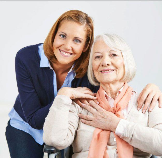 Esperienza nella cura degli anziani